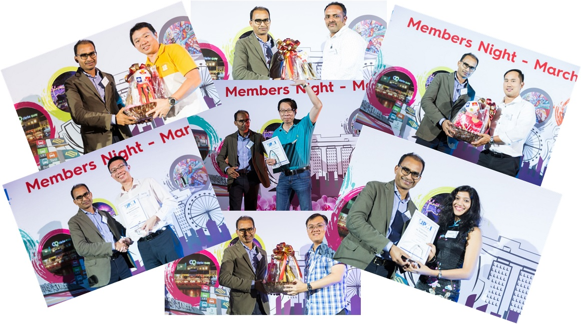 MembersNight Collage