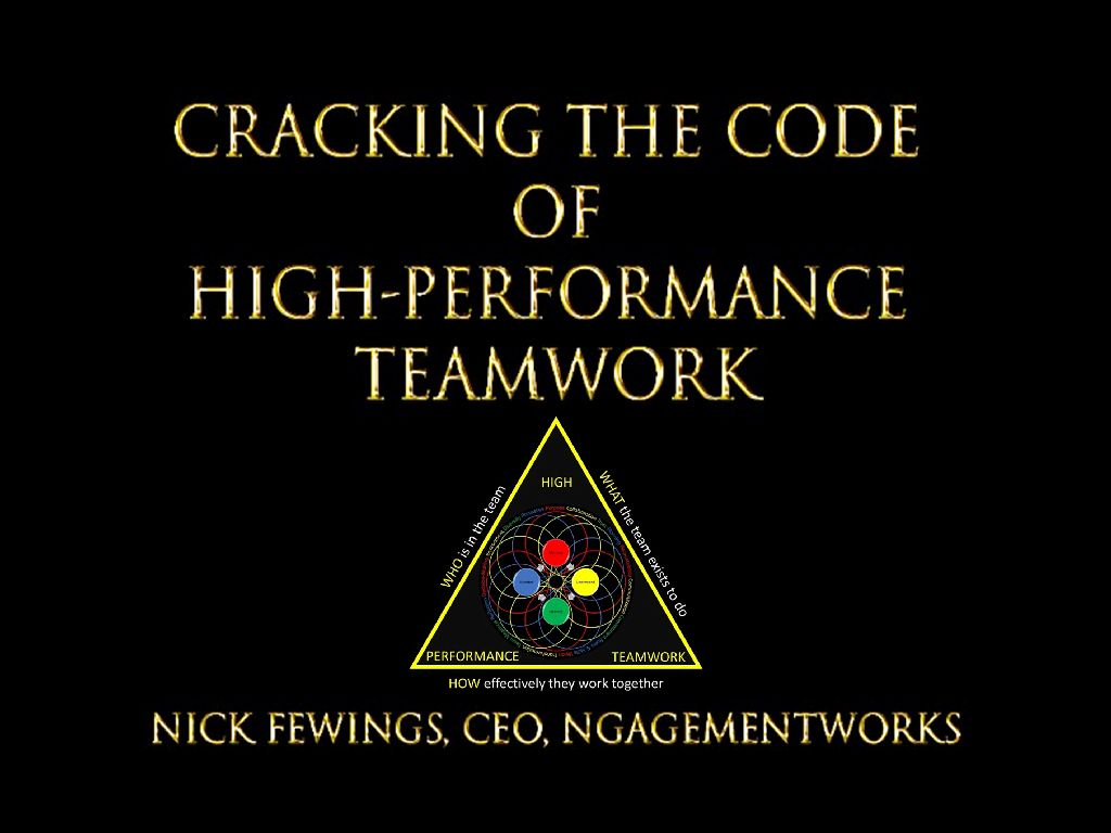Nick Fewings Ngagementworks Cracking The Code Reduced