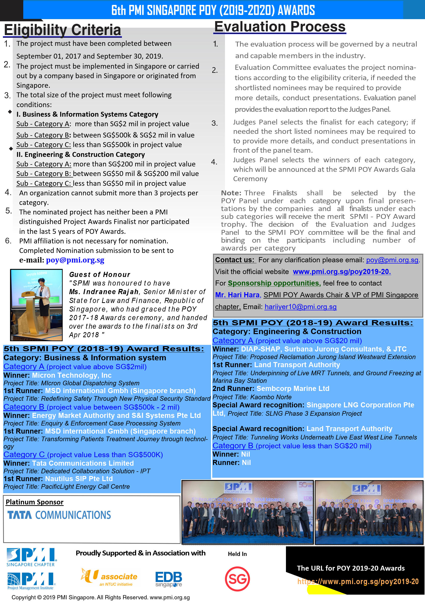 Newsletter 1 Call for Nominatons POY2018 19 r4 Pg 2 of 2