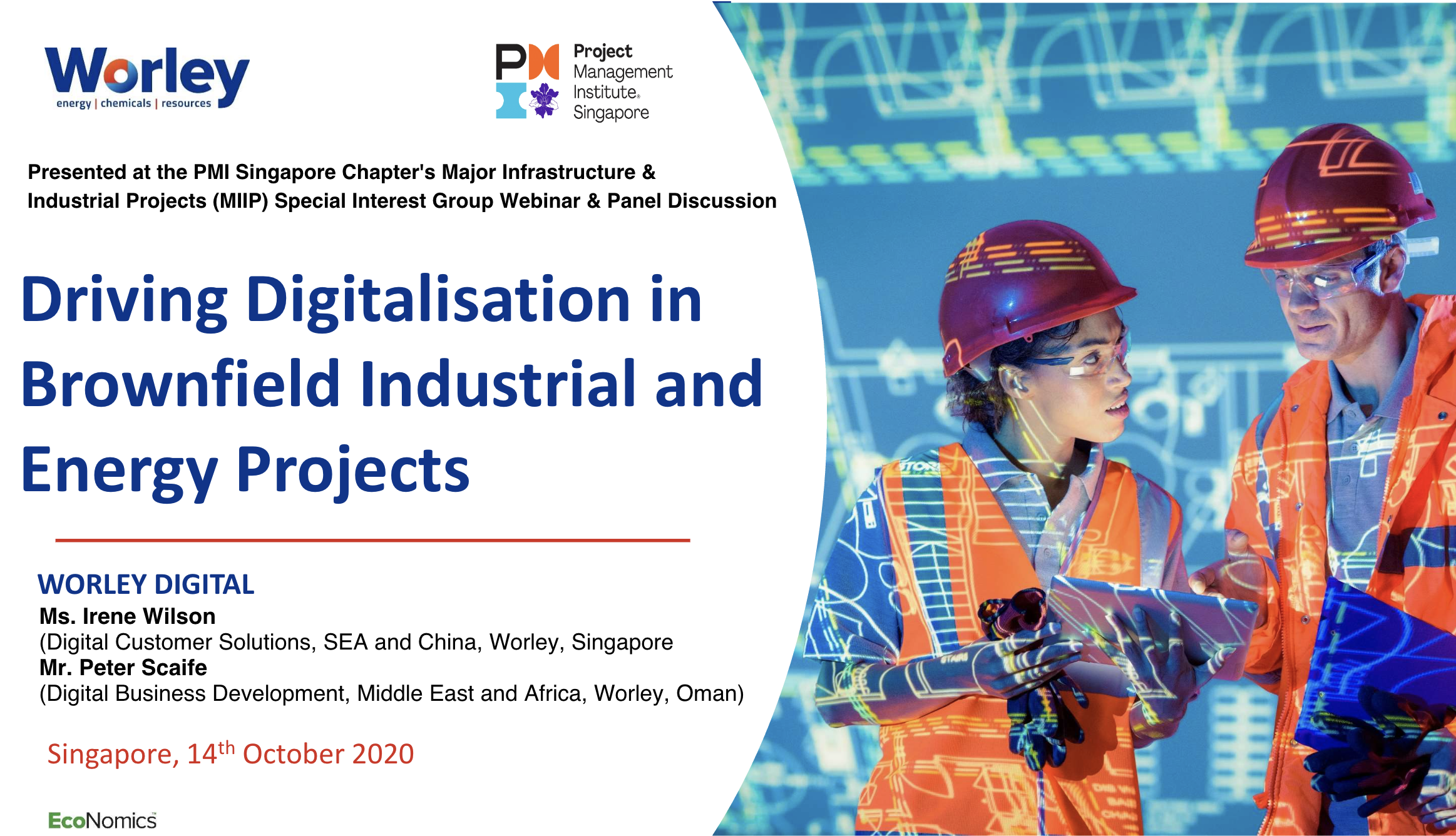 MIIP DrivingDigitalisation in Brownfield Industrial and Energy projects slides